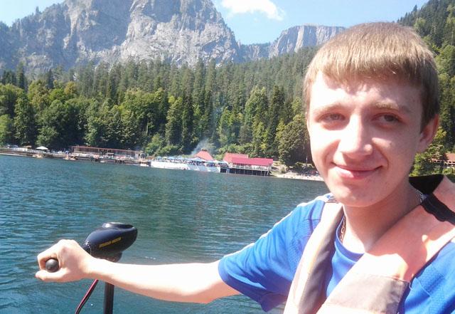 Поездка на море в Абхазию, озеро Рица
