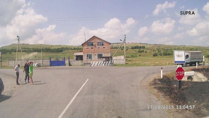 пост ДПС на пути в Архыз из Армавира