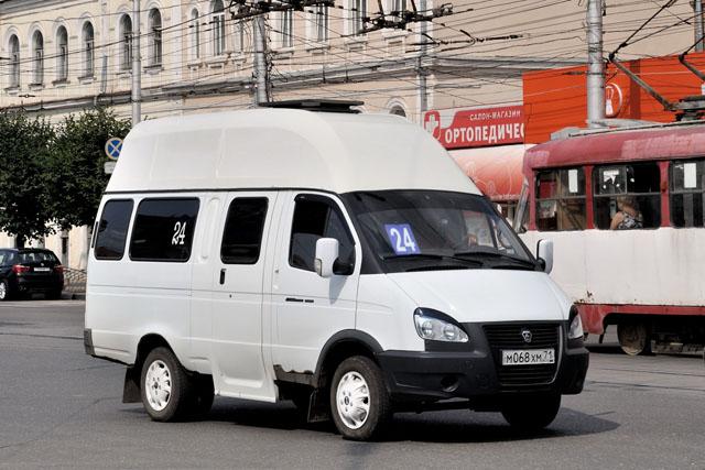 Микроавтобус Газель Луидор