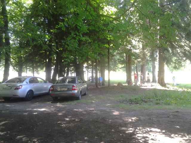 поселок Гузерипль, место ночлега в палатках