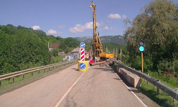Ремонт дороги на Гузерипль в п. Хамышки