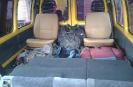 2 Укладываем рюкзаки внизу сзади