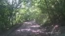 Никитино - Горная дорога над обрывом за р. Малая Лаба