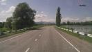 Дорога в Псебай - Небольшое озеро в п. Шедок у дороги