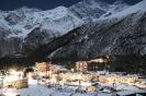 село Терскол, Кабардино-Балкария, Приэльбрусье ночью