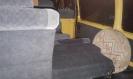 Опущеные сиденья для загрузки рюкзаков - автобус, (микроавтобус) Газель