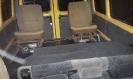 Задняя площадка, опущенные сиденья второго ряда - автобус, микроавтобус Газель