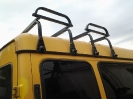 Багажник для рюкзаков на автобусе, (микроавтобусе) Газель