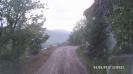 Дорога над обрывом в объезд Никитино на Кордон Черноречье