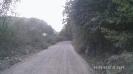 Начало грунтовой дороги на КПП Кордон Черноречье