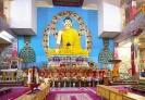 Буддистский храм внутри, Калмыкия
