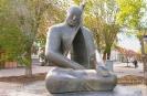 Скульптура Эхо в Элиста