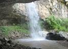 Грот водопада Чинарев