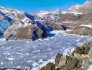 Озеро Гижгит зимой