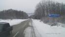 Поворот на турбазу Зубрёнок - дорога в п. Гузерипль
