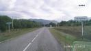 Въезд в п. Перевалка, дорога Погранзастава, (Псебай)