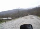 Дамба на реке Пшеха перед п. Отдаленный, Шпалорез