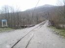 Дорога по мосту через реку Пшеха в п. Отдаленный, Шпалорез