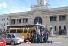 Начало заброски в горы, вокзал Краснодар