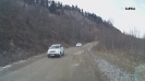 Начало крутого подъёма в гору до Азиш Тау, КПП, Кордон Лаго Наки