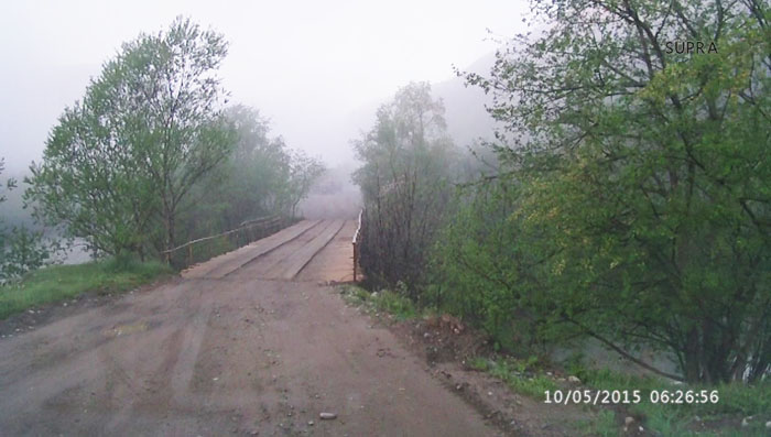 Мост п. Азиатский, доехать, добраться в Рожкао