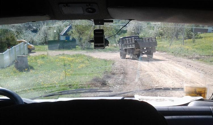 Газ-66 для заброски из Новопрохладное в горы