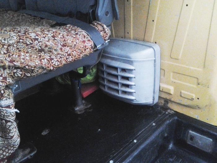 Печка автобуса Газель - транспортные услуги, транспорт в горы зимой