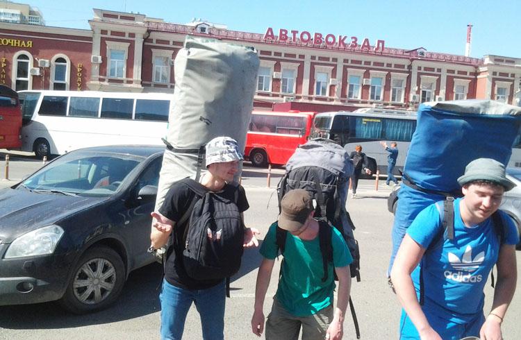 Трансферы, заброска Краснодар - Черниговское для сплава, похода на реке Пшеха