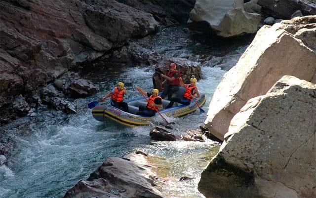 Верхний участок сплава река Белая