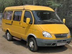 Gazel minibus with 12 seats to transport, transfer the tourists Hiking in the mountains of the North Caucasus , Russia - Adygea, Karachay-Cherkessia, Krasnodar Krai