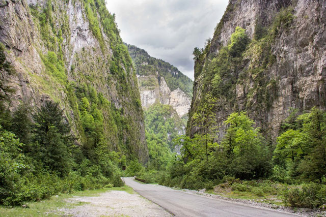 Туры в Юпшарский каньон в Абхазии