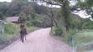 Конный пограничный наряд в районе Никитино