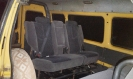 Автобус, микроавтобус Газель с мягким салоном - вид внутри