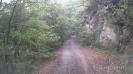 Дорога до Кордона Черноречье - Скала справа от дороги