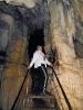 Лестница в Большой Азишской пещере