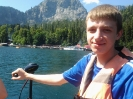 Прогулка на катере озеро Рица