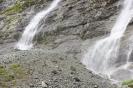 Софийские водопады внизу