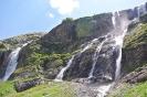 Вид на Софийские водопады справа