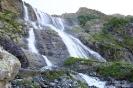 Вид на Софийчкие водопады слева