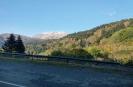 гора Фишт, вид с дороги