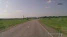 Дорога на п. Гуамка - по равнине недалеко от  Апшеронской развилки