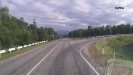 Поворот на п. Перевалка, Погранзастава, (Псебай) - (прямо дорога в Карачаево-Черкесию)