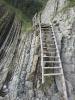Лестница на Скале Киселева