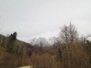Вид на горы, как доехать, добраться в п. Отдаленный, (Шпалорез)