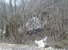 Огромная каменная глыба у дороги в п. Отдаленный, Шпалорез