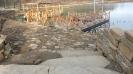 Каменная набережная пруда