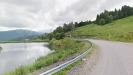 Дорога над озером в горах - Партизанская поляна, Адыгея