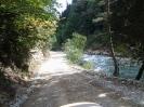 Дорога во время заброски в горы