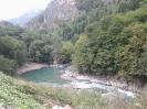 Поворот реки в ущелье