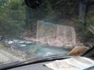 Вид из машины над пропастью